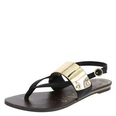 Feel the thrill of this fun flat from Brash! It features a tumbled upper with mirrored plate, adjustable ankle strap with buckle, tumbled insole, and sturdy outsole. Manmade materials.