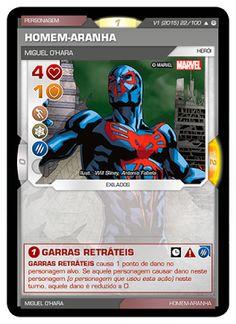 Fabian Balbinot - MagicJebb: Marvel Battle Scenes - Miguel O'Hara. o Homem-Aran...