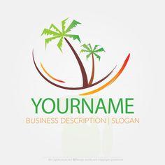 Online Free Logo Maker – Palm Tree logo design Kids Logo, Tree Sleeve Tattoo, Palm Tree Drawing, Create Logo Design, Resort Logo, Celtic Tree Of Life, Tree Logos, Online Logo, Family Tree Wall