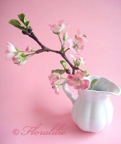 Kirschzweig von Floralilie