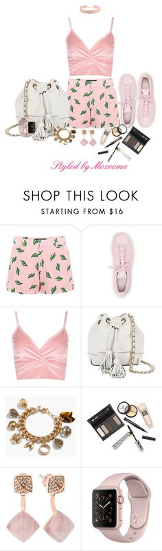 """""""Shorts Outfit"""" by mozeemo ❤ liked on Polyvore featuring American Retro, adidas, Boohoo, Rebecca Minkoff, J.Crew, Borghese, Michael Kors and Johnny Loves Rosie"""