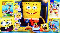 Spongebob Squarepants Toys Videos MEGA Spongebuddy Surprise Blind Boxes ...