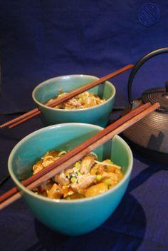 Dan dan mian - Nouilles sauce Cacahuète - Chinese Peanut noodles