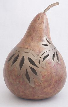 Nature's Design :: Gourd Art by Rhonda