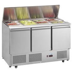 Interlevin ESA1365 Gastronorm Saladette Counter