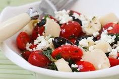Hearts of Palm Salad with Roasted Shallot Vinaigrette is great for your Easter table---or anytime! (Intermediate Lifestyle)  http://www.weightnomoredietcenter.com/siteimages/file/recipes/Final--HeartsPalmSaladRoastedShallotVinaigrette.pdf