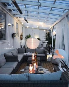 Nice curtain idea The post Ceiling idea? Nice curtain idea appeared first on Terrasse ideen. The post Ceiling idea? Nice curtain idea appeared first on Outdoor Diy. Outdoor Living Rooms, Outdoor Spaces, Outdoor Decor, Backyard Beach, Backyard Patio, Pergola Shade, Patio Design, Outdoor Furniture Sets, New Homes