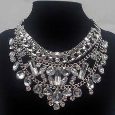 Mia Mi Glam Boutique - Triple Glam Statement necklace, $34.00 (http://www.miamiglamboutique.com/triple-glam-statement-necklace/)