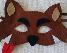 Máscaras Lobo Mau em feltro