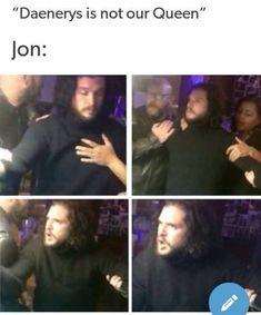 Drunk, angry Jon is the best Jon Game Of Thrones Meme, Arte Game Of Thrones, Game Of Thrones Cast, Khal Drogo, Jon Snow, Game Of Trones, I Love Games, Got Memes, Kit Harington