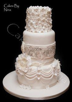 Diamond And Pearls Cake