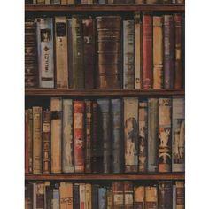 Library Wallpaper - Andrew Martin