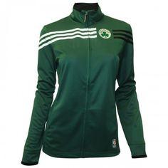 #celtics    adidas Celtics Womens On-Court Track Jacket