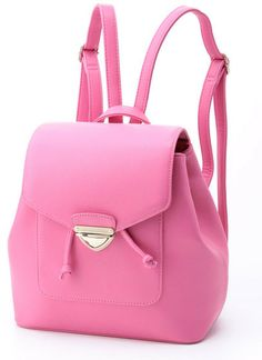 hot pink backpack / ShopStyle(ショップスタイル): Jewelna Rose ジュエルナローズ カラーリュック - shopstyle.co.jp