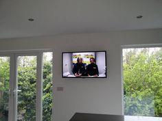 out door wall tv