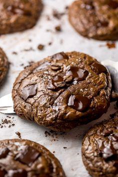 Shortbread Recipes, Cookie Recipes, Dessert Recipes, Macarons, Chocolate Fudge Cookies, Chocolate Recipes, Tea Cakes, Chocolate Espresso, Chocolate Chocolate