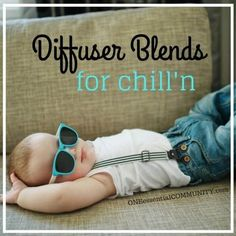 calming essential oil diffuser blends for when you need to relax, chill out, and reduce stress