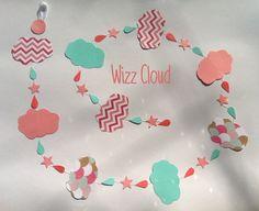 Guirlande en papier : Wizz Cloud