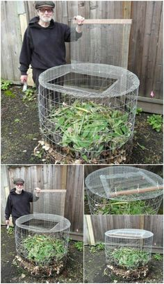 35 Cheap And Easy DIY Compost Bins That You Can Build This Weekend Do you have a compost bin? Do you even compost? If not, you're missing out on a wonderful way to add nutrients to your gardening this spring. If you have never had a compost bin, Garden Compost, Vegetable Garden, Organic Gardening, Gardening Tips, Gardening Books, Best Compost Bin, Potager Palettes, How To Make Compost, Making Compost