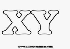Moldes de letras para murais e painéis de sala de aula em tamanho pequeno ou grande - moldes de numerais - Alfabetos Lindos