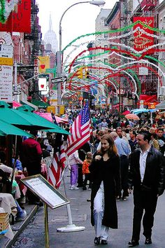Little Italy. NYC