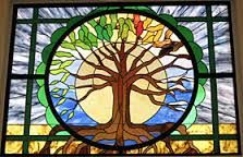 Image result for stained glass tree