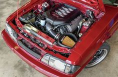How to Install a 5.0 Coyote Into a Fox Mustang - Breeding Easy: Sean Hyland Motorsport drops a Coyote powerplant into a Fox.