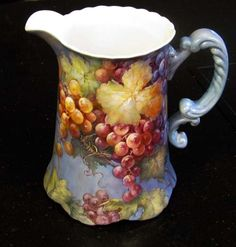 GeorgiaByTheSea Grape Project   ARTchat - Porcelain Art Plus (formerly Chatty Teachers & Artists)