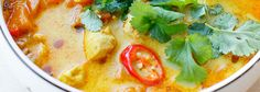 Zupa meksykańska z batatami, kurczakiem i soczewicą