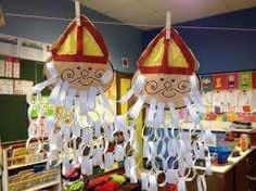 Great ideas for crafting for Sinterklaas – MamaKletst. Diy For Kids, Crafts For Kids, Diy And Crafts, Paper Crafts, Theme Noel, Saint Nicholas, Winter Kids, Art Lessons, Christmas Crafts