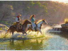 Mark Keathley Companions Canvas