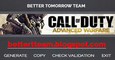 Call of Duty Advanced Warfare Keygen