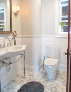 My Houzz: Provence by the lake - traditional - bathroom - toronto - Jenn Hannotte / Hannotte Interiors