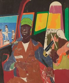 R. B. Kitaj - Juan de la Cruz Samlingen – Astrup Fearnley Museet Oslo, Figure Painting, Painting & Drawing, Modern Art, Contemporary Art, Tate Gallery, Pop Art Illustration, Collage Techniques, Jeff Koons