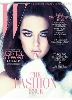 Kristen Stewart, September 2011 cover. Photo: Mert Alas & Marcus Piggott.