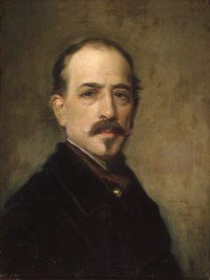 El pintor Cosme Algarra 1870