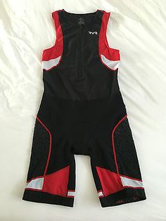 Tyr #competitor #men's #triathlon suit size l black/red/white,  View more on the LINK: http://www.zeppy.io/product/gb/2/272348859878/
