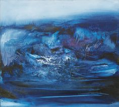 ZAO WOU-KI (ZHAO WUJI) 1920-2013 signed in Chinese and Pinyin; signed in Pinyin, titled and dated 18. Août.67; Frank Perls, Beverly Hills and Galerie de Montréal labels affixed to the stretcher on the reverse; oil on canvas; 36 7/8  by 41 1/8  in.