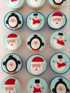 Christmas Cupcakes | Craftsy