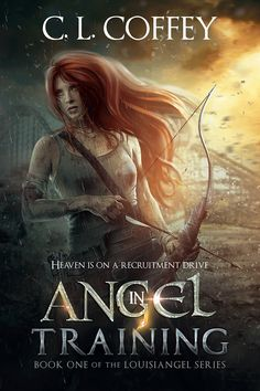 """Cover art for the First book in Louisiangel Series - """"Angel Training"""" by Cheryl Coffey."""