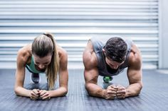 When you have a full time job and two kids, it's hard to find the time to bond with your other half...Try working out together and get to know each other from a completely new point of view! #couple #love #active