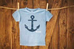 Be Kind  Kids Apparel  Anchor TShirt  Size 6 by BeKindMovement, $20.00