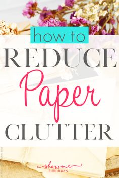Need organizing ideas to get rid of piles of paper in your home? Try this one easy solution to greatly reduce the paper clutter littering your kitchen counter.
