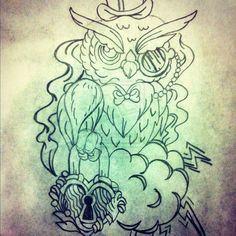 owl tattoo sketches owl chest tattoo sketches owl sketches tumblr cute ...