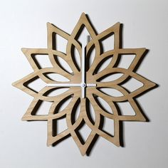 Lotus Wall Clock Wooden clock Laser Cut clock Lotus Flower clock Geometric clock wedding gift for wife housewarming gift Yoga Studio - GIFT FOR WIFE laser cut wall clock gift for girlfriend housewarming gift for her wood clock wall clo - Wall Clock Gift, Wall Clock Wooden, Clock Art, Wood Clocks, Clock Decor, Wall Wood, Lotus Design, Geometric Wedding, Geometric Wall