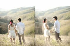 Exactly where i want to have my wedding photos. At some rolling hills somewhere. x)