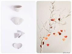egg carton heart craft by Sanae Errabie