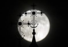 Behind a Steeple of an Orthodox Church in Novogrudok, Kelarus by Sergei Grits/AP