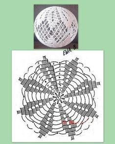 Best 12 Crochet Christmas Bauble Doily – Page 517562182178910164 – SkillOfKing. Crochet Doily Rug, Crochet Ball, Crochet Stars, Crochet Snowflakes, Crochet Flowers, Diy Paper Christmas Tree, Crochet Christmas Ornaments, Christmas Crochet Patterns, Christmas Crafts