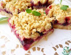 Рецепт: Сливовые штрейзельные пирожные